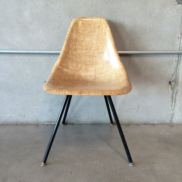 Eames Style Mid Century Fiberglass Shell Chair