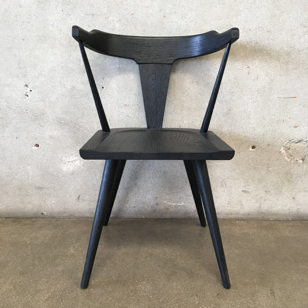 Black Modern Wishbone Chair