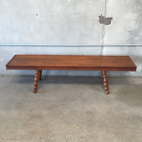 Large Wooden Bench Table