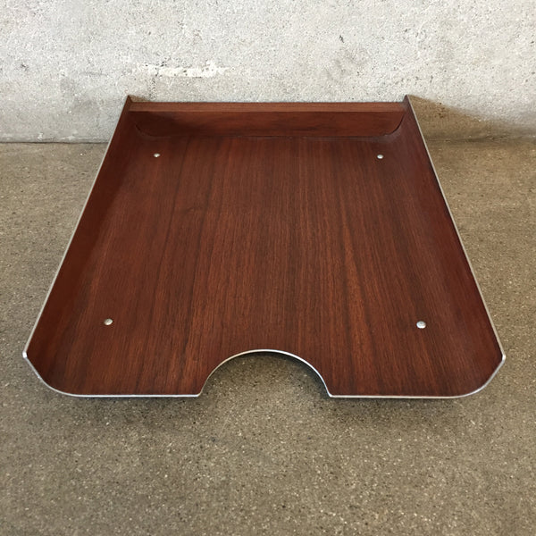 Vintage Mid Century Paper Tray