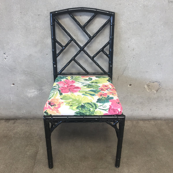 Vintage Inspired Chinese Chippendale Chair