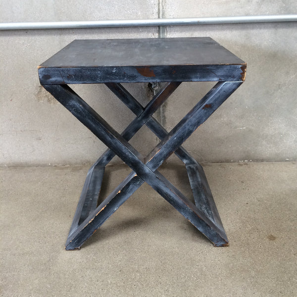 Wood Side Table