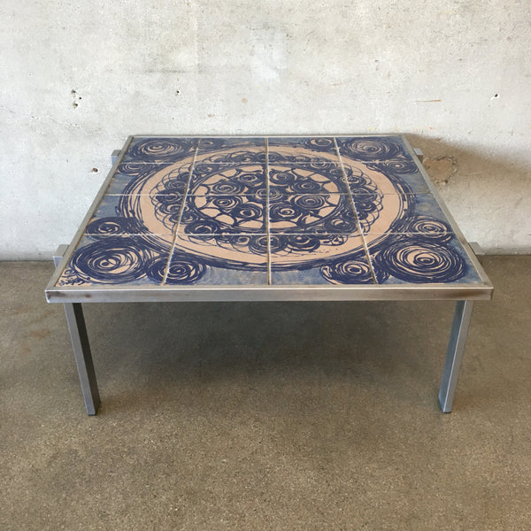 Mid Century Danish Modern Coffee Table by OxArt