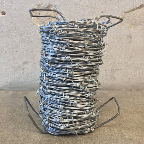 Spool of Ranchers Barbed Wire