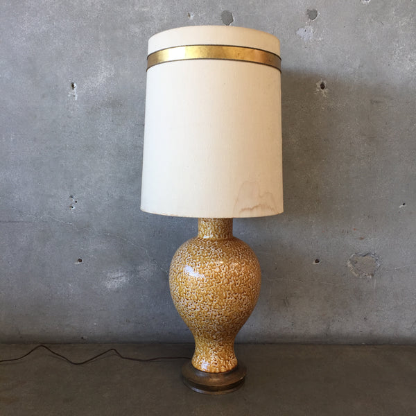 Mid Century Ceramic Table Lamp