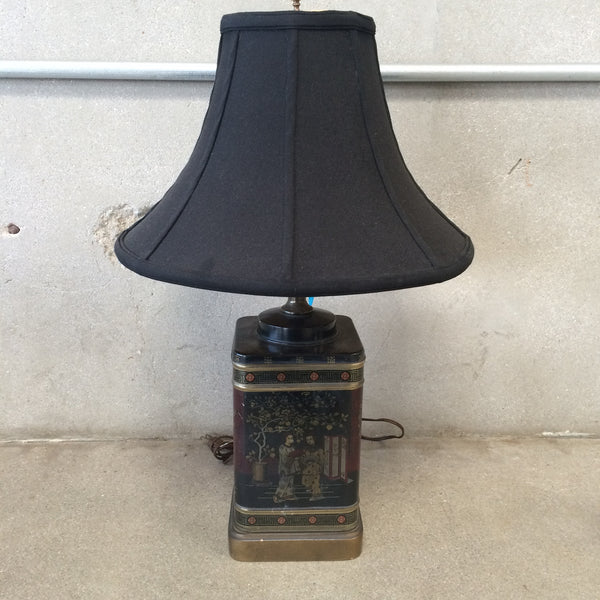 Japanese Tea Tin Table Lamp