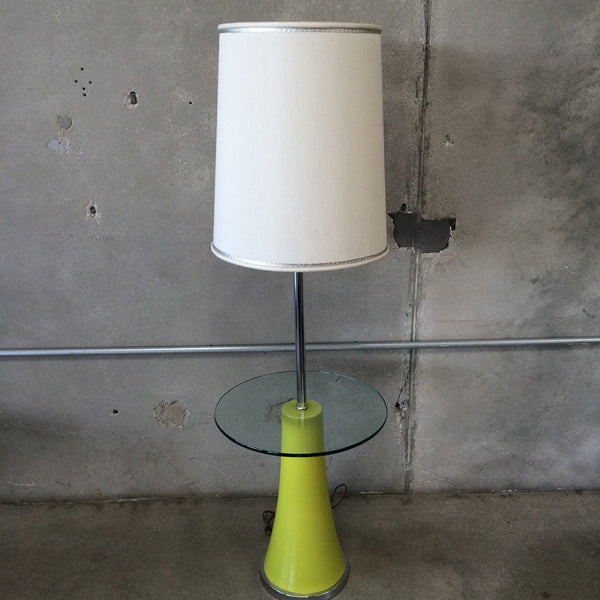Combination Side Table/Floor Lamp