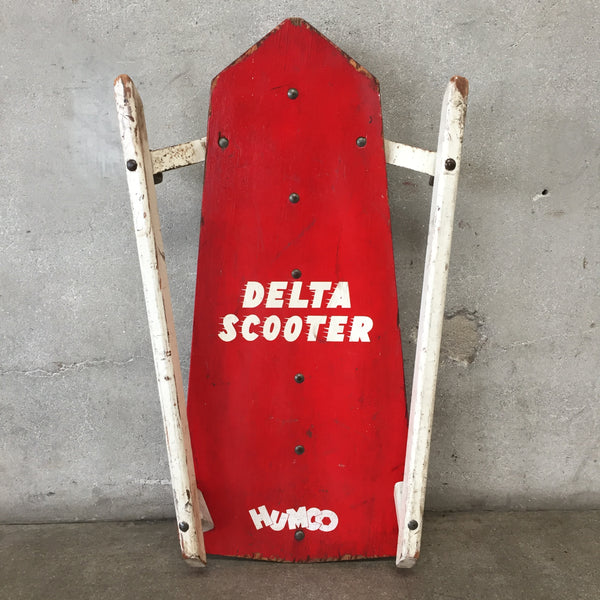 Vintage Rare Humco Delta Scooter