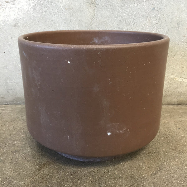 Mid Century Brown Gainey Pot