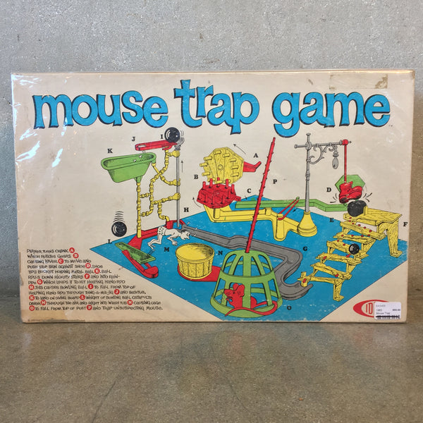 Boxed & Wrapped Mouse Trap Game
