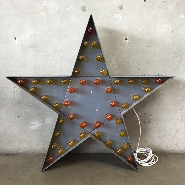 Vintage Star Marquee