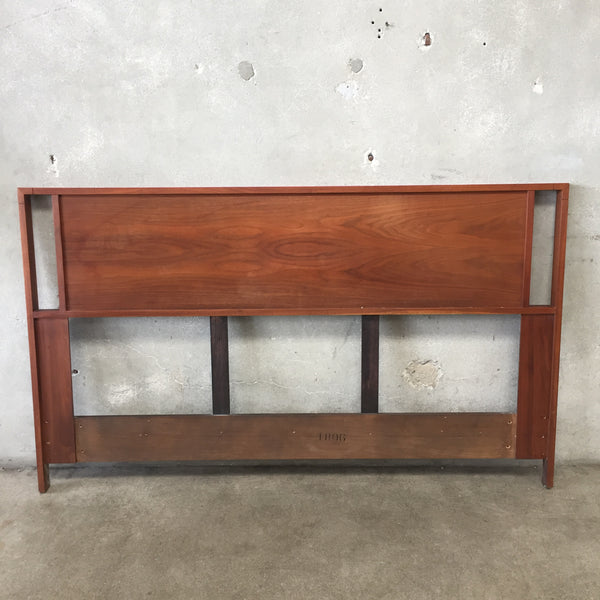 Mid Century Queen Size Headboard by Brown Saltman