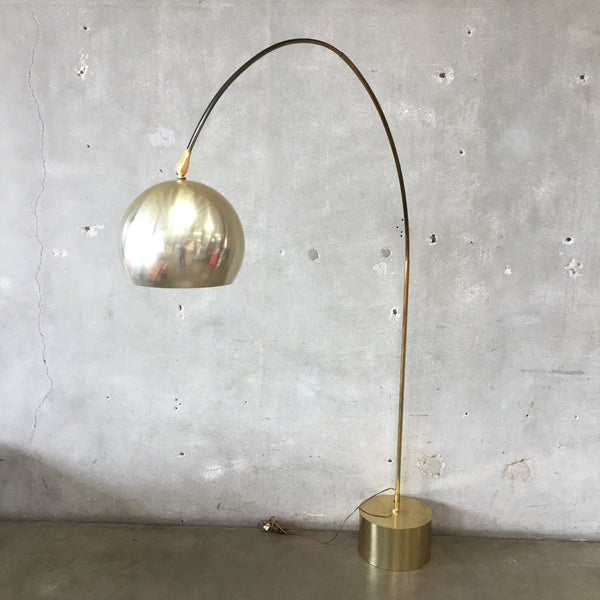Mid Century Modern Arc Floor Lamp