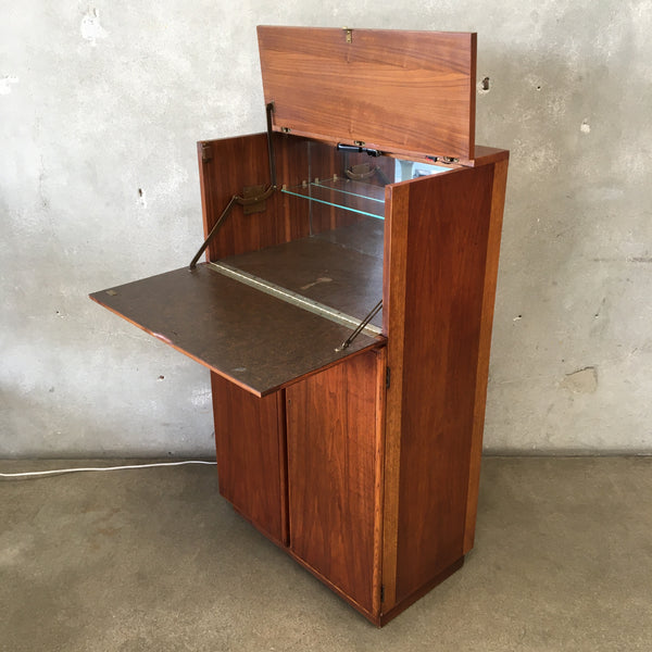 Vintage Mid Century Bar Cabinet by Lane