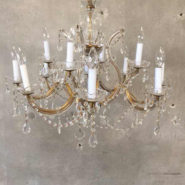 13 Light Crystal Chandelier
