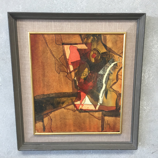 1970 Kessler Collage Original Signed Art