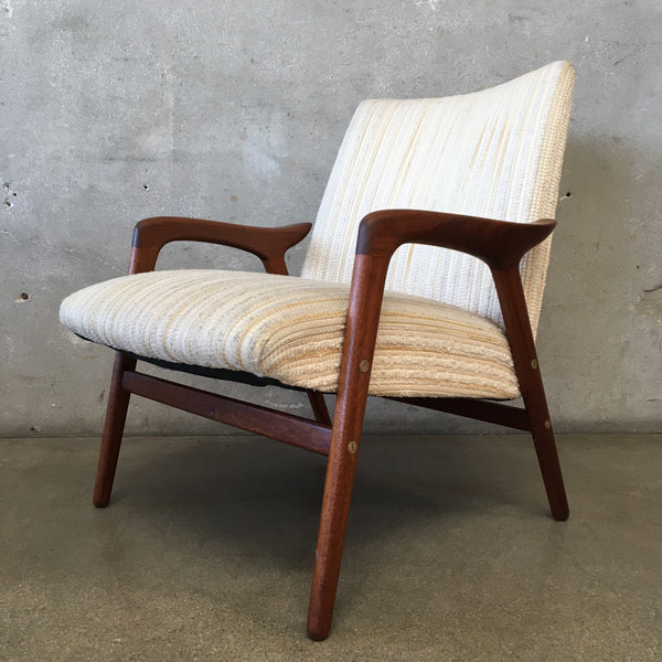 Vintage Mid Century Chair Attributed to Folke Ohlsson for Dux Furniture