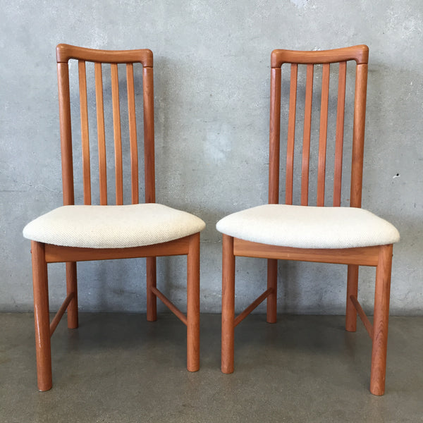 Mid Century Benny Linden Dining Chairs