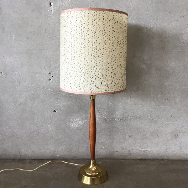Vintage Mid Century Table Lamp