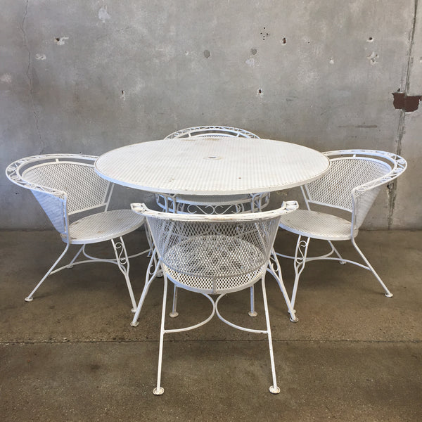 Mid Century Salterini Patio Set - Vintage & Antique Patio Tables And Chairs – UrbanAmericana