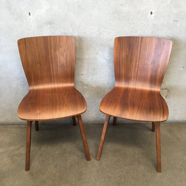 Pair of Crest Bentwood Chairs