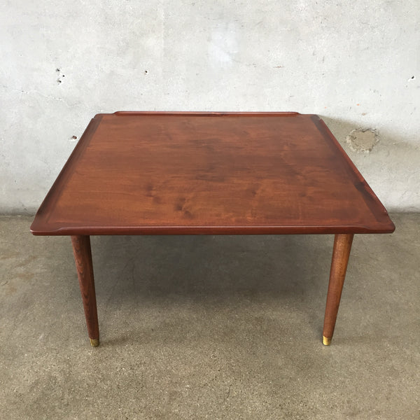Mid Century Teak Side Table