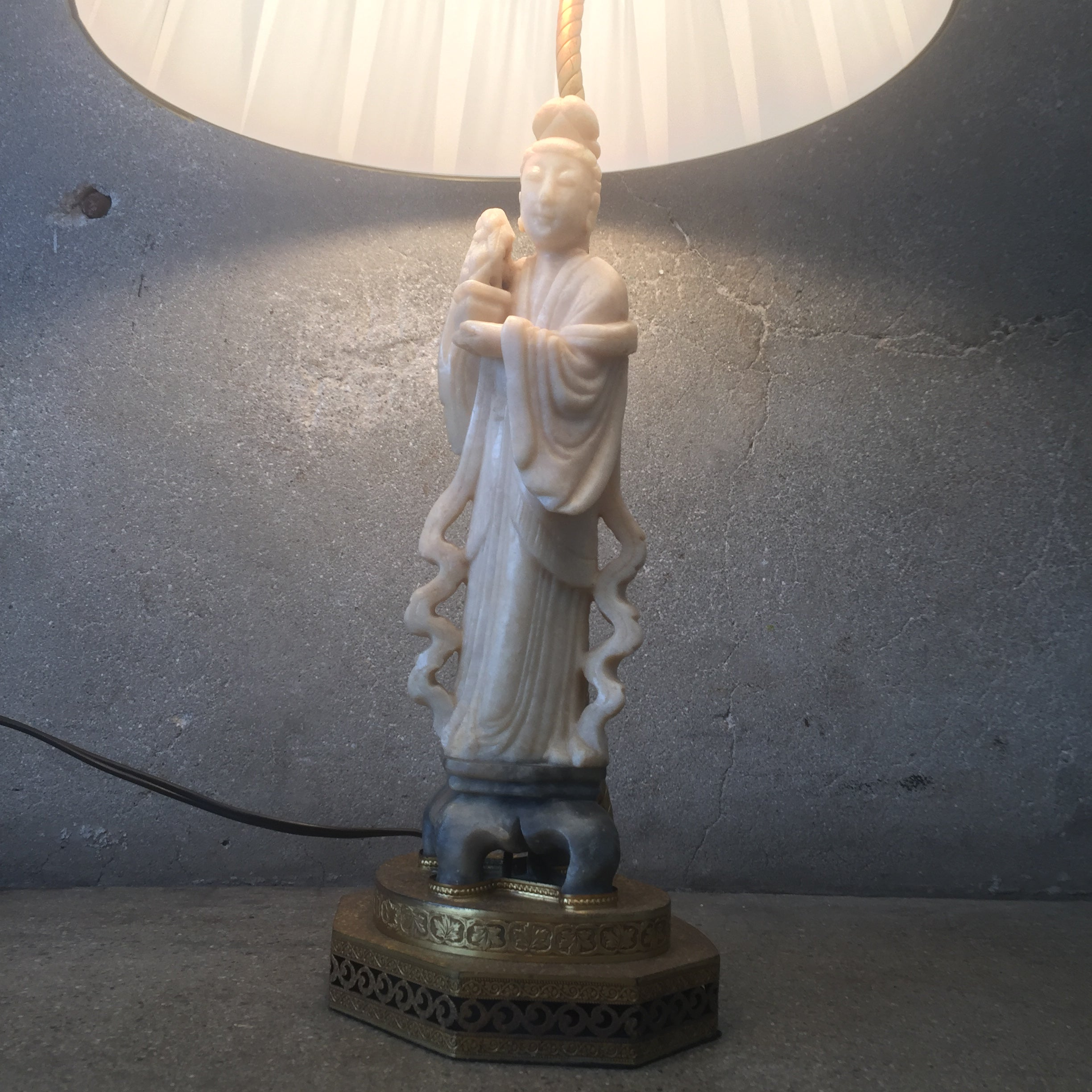 statue omero home chinoiserie antique floor lamp product