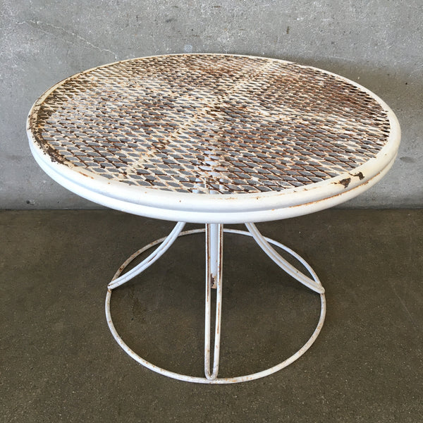 Mid Century Modern Patio Table by Homecrest