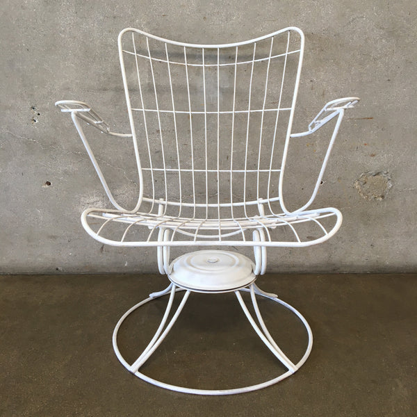 Mid Century Modern Patio Chair by Homecrest