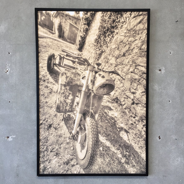 Large Motorcycle Print