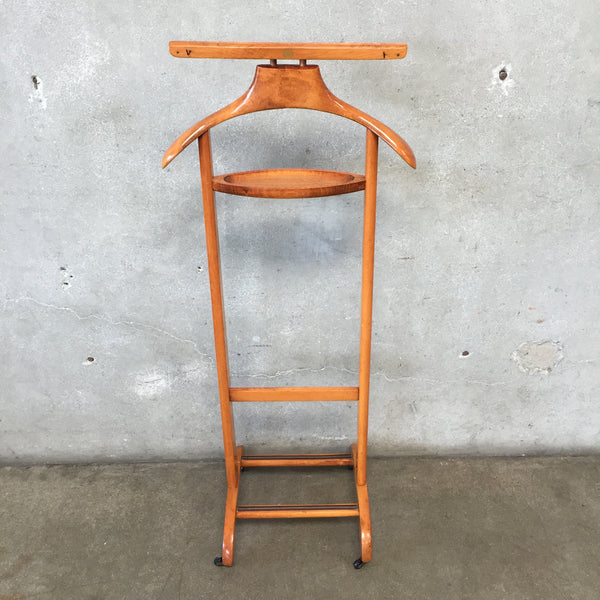 Mid Century Wood Valet Stand by Ico Parisi for Fratelli Requiti