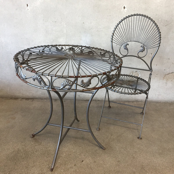Garden Table & Chair