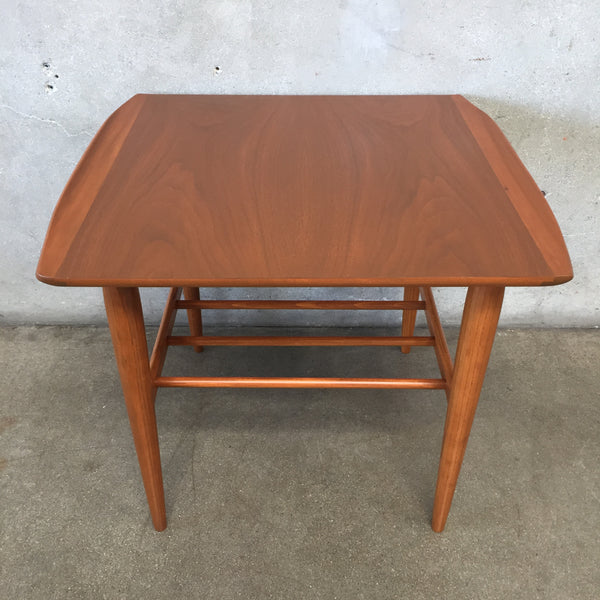 Mid Century Modern End Table by Bassett Artisan Collection