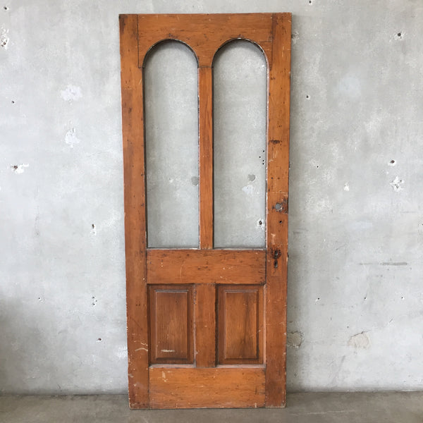 Antique Arched Door