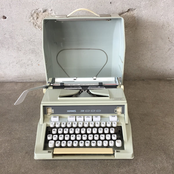 Hermes Typewriter with Case
