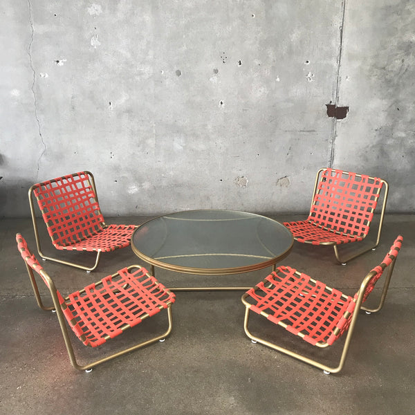 Mid Century Modern Patio Set by Brown Jordan - Restored