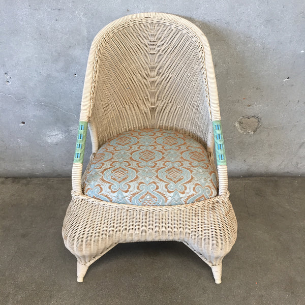 Vintage Wicker Victoria Chair