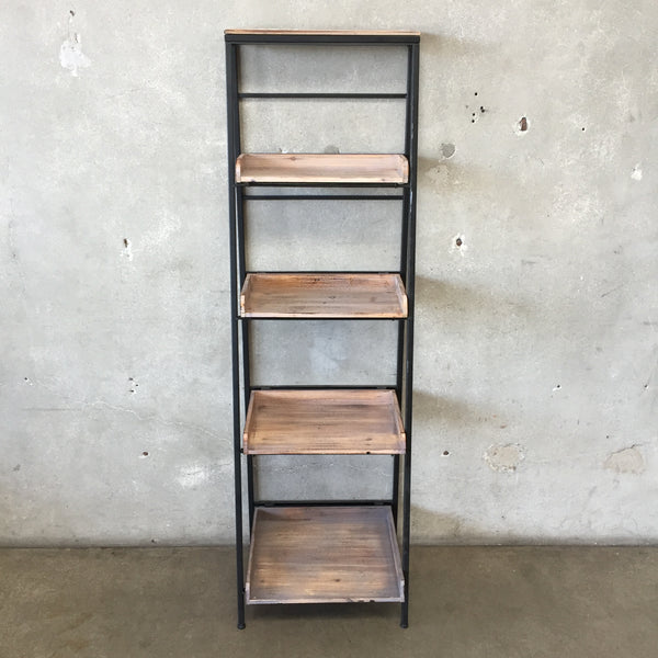 Industrial Wood & Metal Shelving