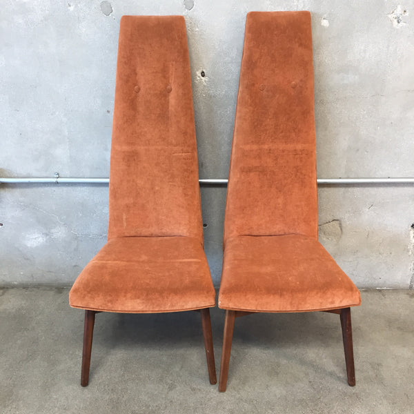 Pair of Vintage Adrian Pearsall Chairs