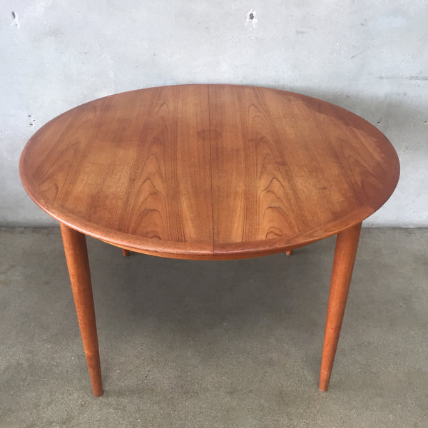 Mid Century Danish Skovmand Andersen Dining Table