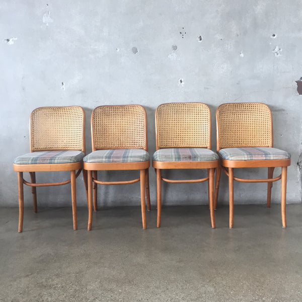Set of Four Vintage Bentwood Dining Chairs