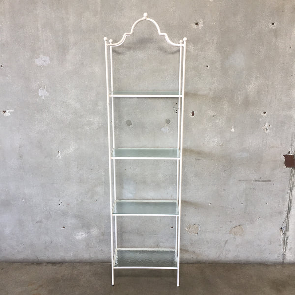 White Etagere Shelf