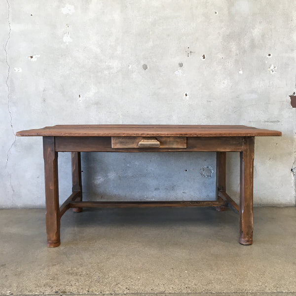 Solid Wood Farmhouse Table