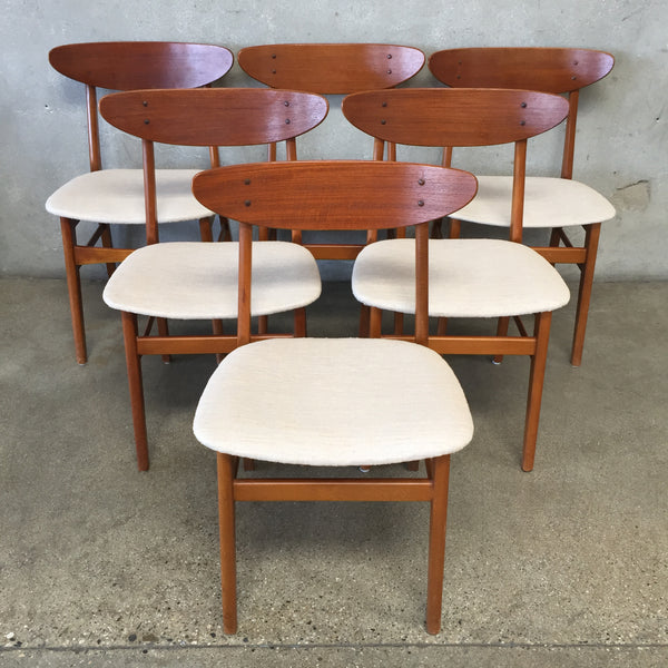 Danish Modern Teak Dining Chairs by Dansk