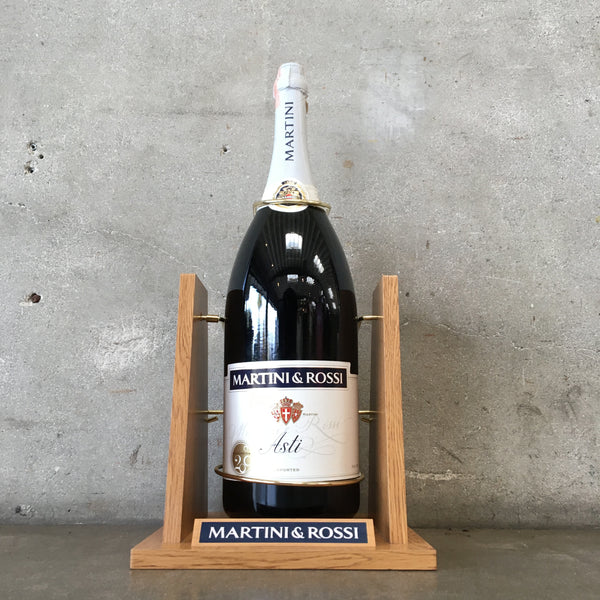 2000 Martini & Rossi Asti Six Litter Bottle With Serving Cradle