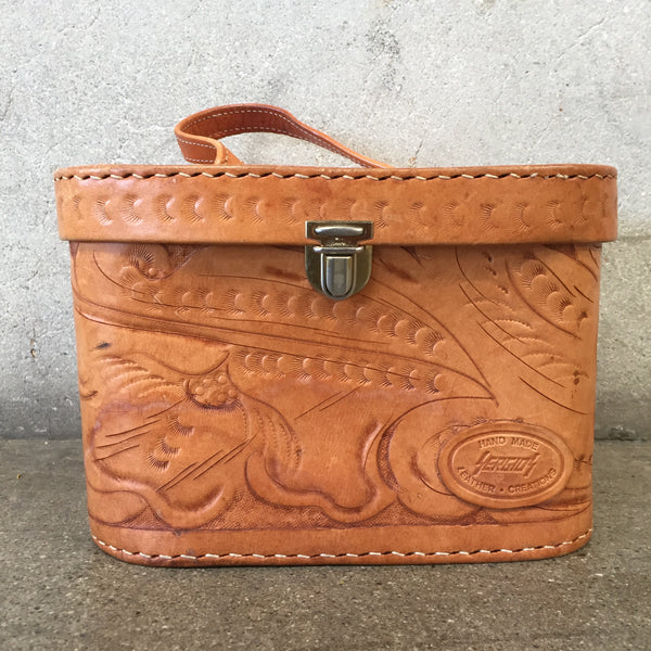 Vintage Leather Travel Case