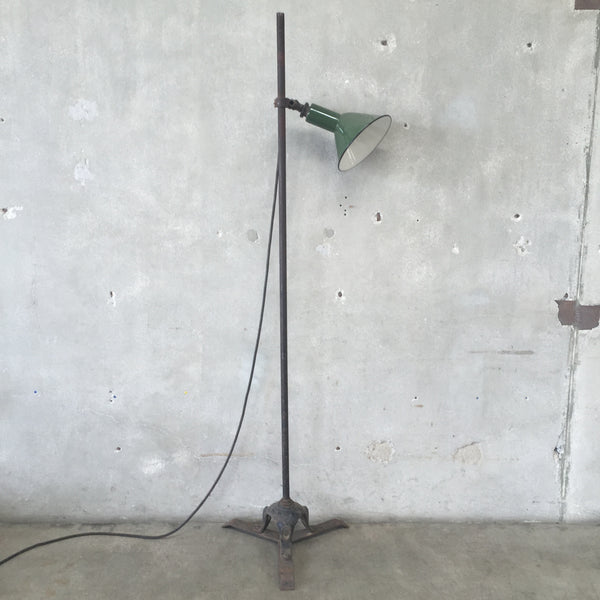 Purallela Lamp Mounted on Iron Base