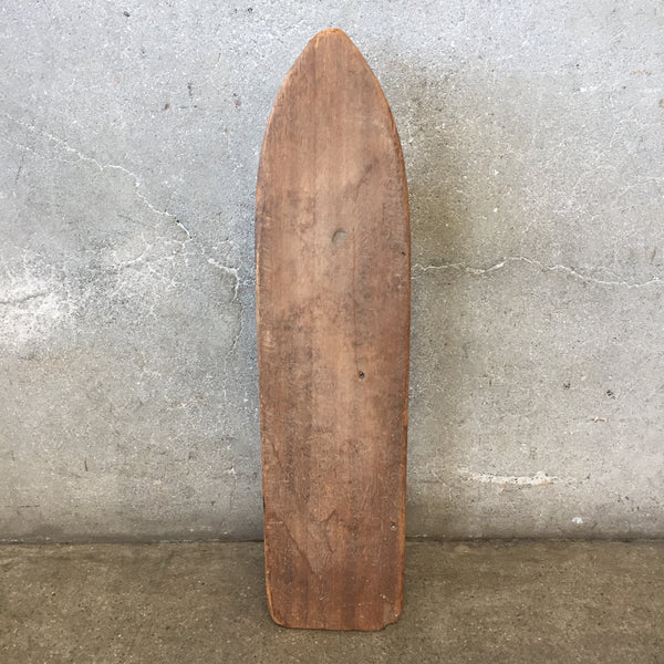 Vintage Homemade Skateboard