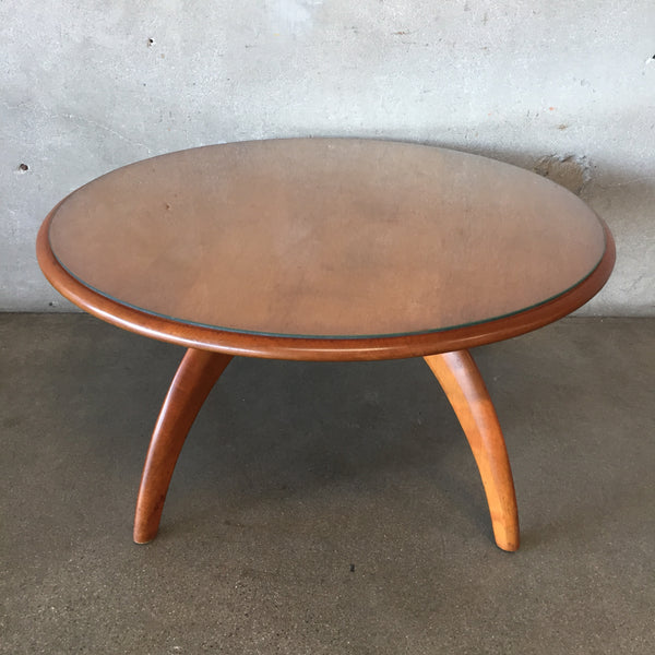 Mid Century Heywood Wakefield Table Turns with Spider Legs
