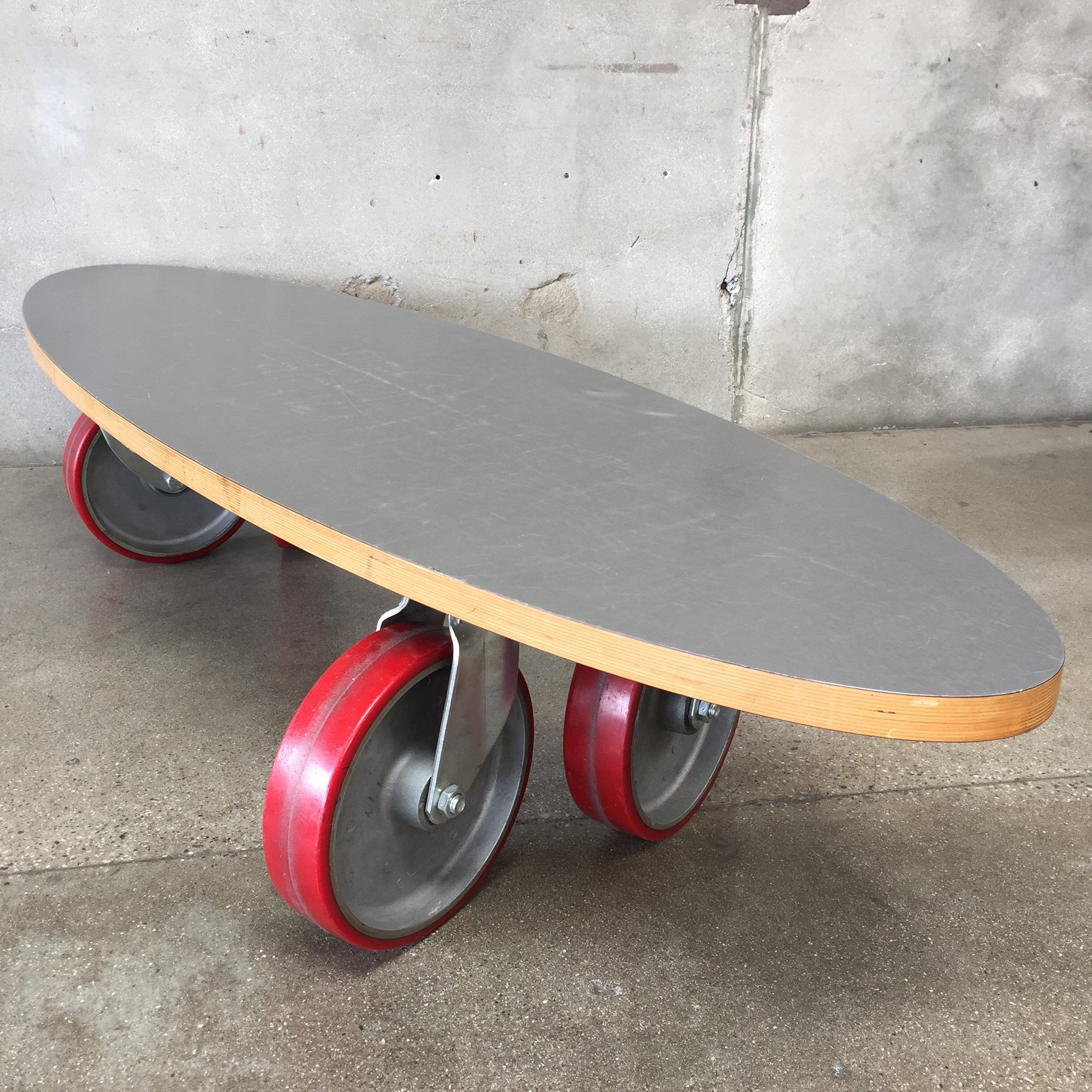 Skateboard Coffee Table Rascalartsnyc